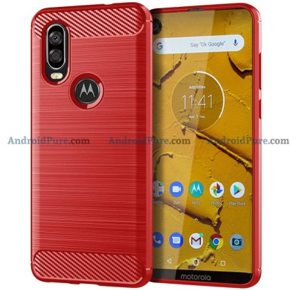 Moto P40 d Moto P40 Case Renders confirm the punch hole camera and earlier leaks 7