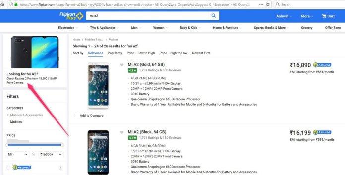 Xiaomi Mi A2 flipkart realme 2 pro - AndroidPure