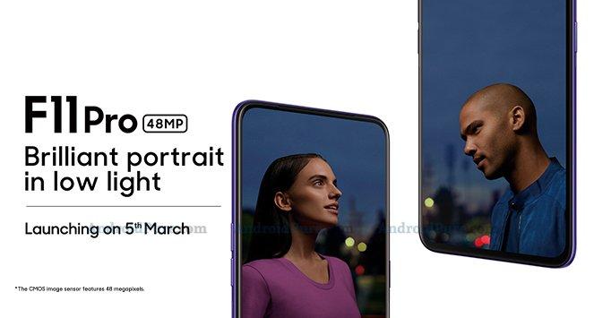 Oppo F11 Pro launch