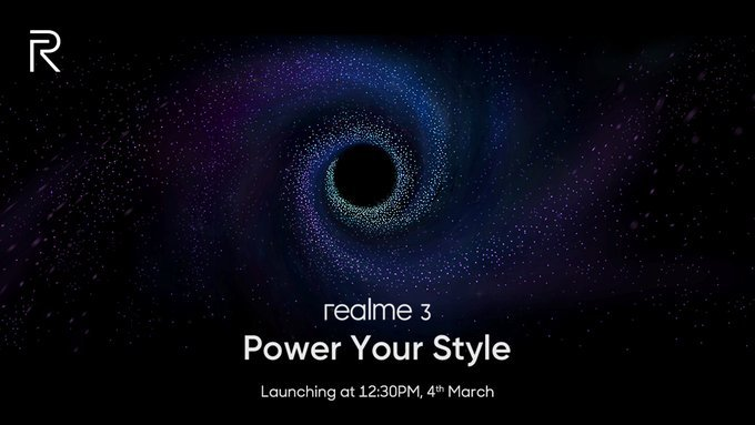Realme 3 launch Realme 3 Flipkart teaser page confirms Battery and Waterdrop notch 2