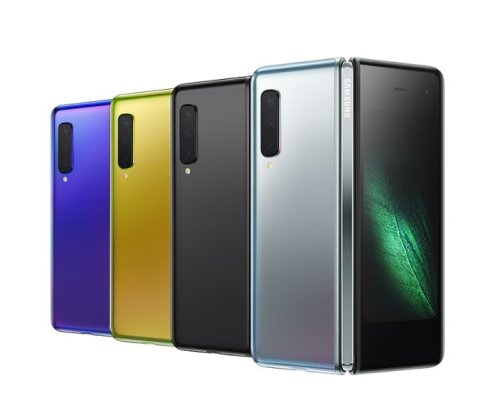 Samsung Galaxy Fold official 5 Samsung Galaxy Fold is the world's first foldable phone, and it starts at $1980 1
