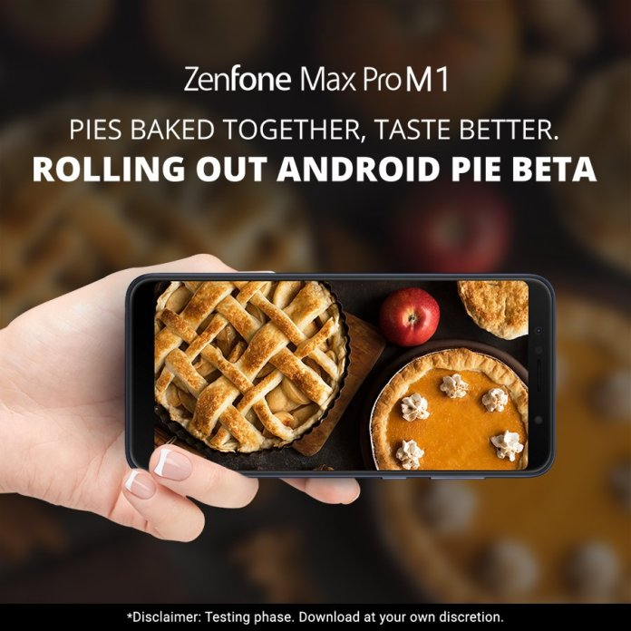 ASUS Zenfone Max Pro M1 Android Pie Beta Program