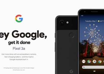 Google Pixel 3a press renders