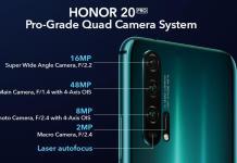 Honor 20 Pro camera