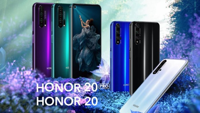 Honor 20 Pro colours