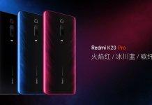 Redmi K20 Pro colours