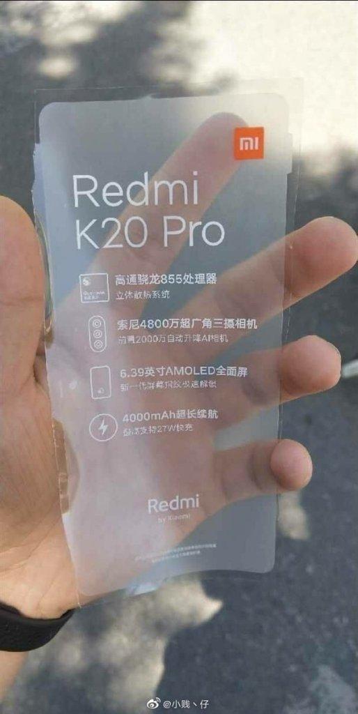Redmi K20 specs