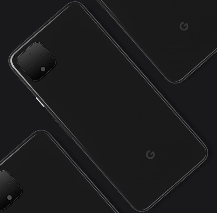 Google Pixel 4 official render