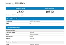 Samsung Galaxy Note 10 benchmark a