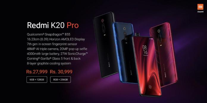 Redmi K20 Pro price in India