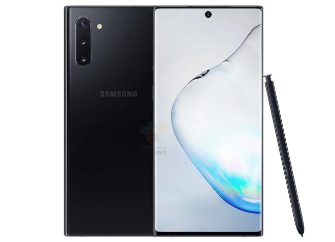 Samsung Galaxy Note10 specs