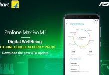 Zenfone Max Pro M1 June Security Update