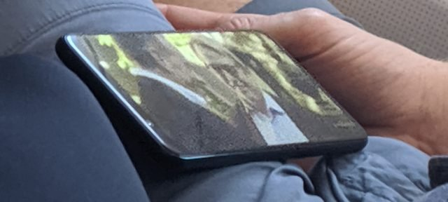 Pixel 4 real life photo leaked