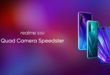 Realme 5 Pro crystal design