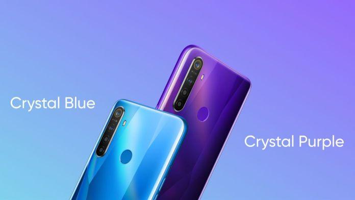 Realme 5 colours