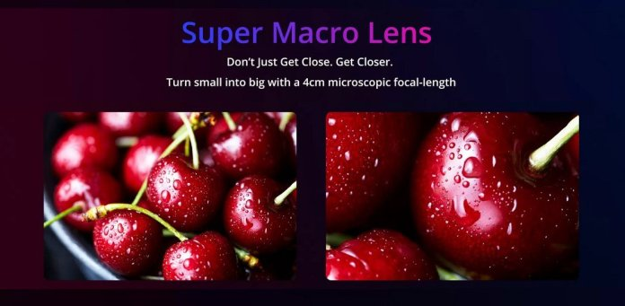 Realme 5 super macro lens
