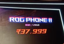 ASUS ROG Phone II Price in India
