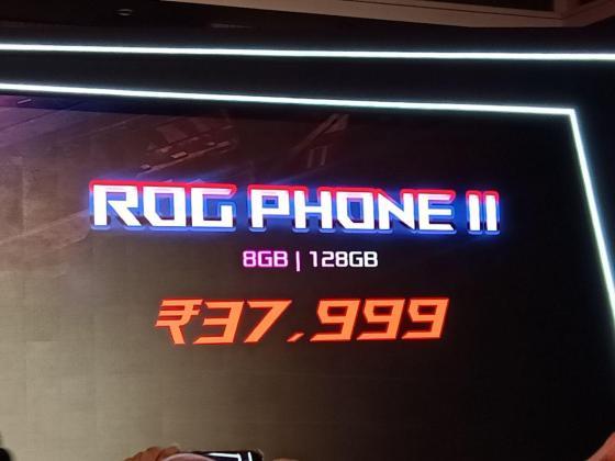ASUS ROG Phone II Price in India