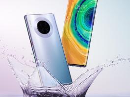 Huawei Mate 30 Pro leaked renders
