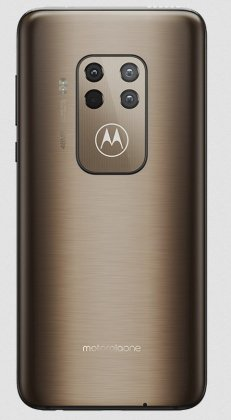 Motorola One Zoom Brushed Bronze
