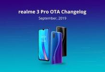 Realme 3 Pro September security patch