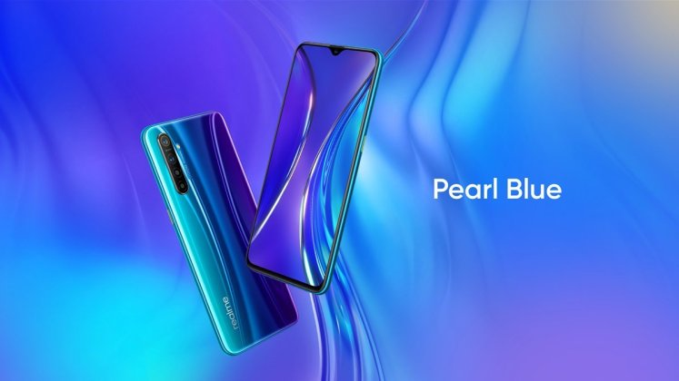 Realme XT Pearl Blue