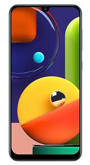Samsung Galaxy A50s screen