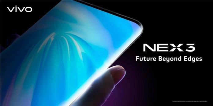 Vivo Nex 3 5G display