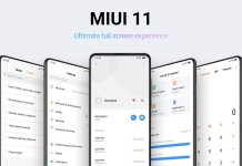 MIUI 11 features Ultimate full screen experience