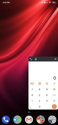 Miui 11 update for redmi k20 floating calculator