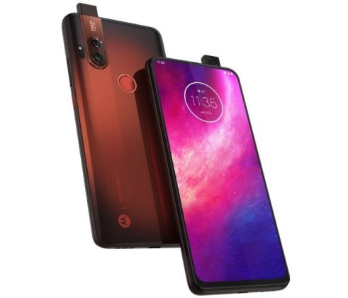 Motorola One Hyper Press Render