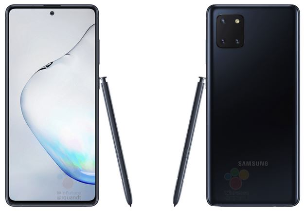 Samsung Galaxy Note10 Lite press renders leaked