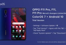 Trial Version Of Android 10 Update For Oppo F11, F11 Pro