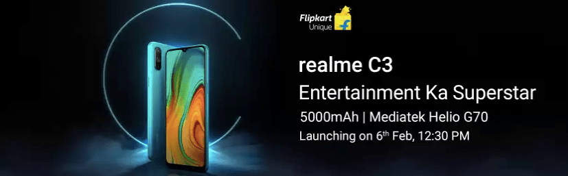 Realme C3 Launch Specs - AndroidPure