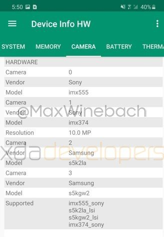 Samsung Galaxy S20+ Camera Specs Leaked