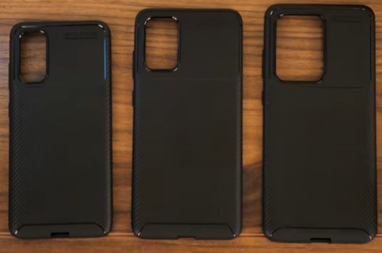 Samsung Galaxy S20 Leaked Dummy Units Cases