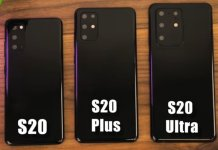 Samsung Galaxy S20 Leaked Dummy Units