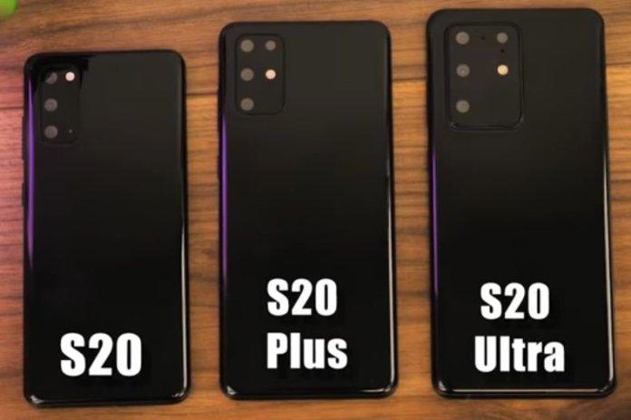 Samsung Galaxy S20 Leaked Dummy Units