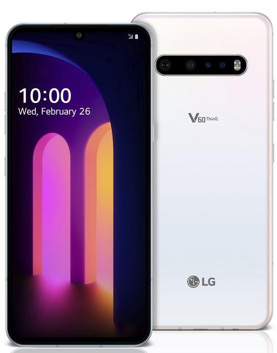LG V60 ThinQ colours