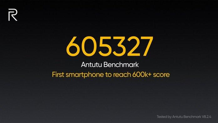 Realme X50 Pro 5G Antutu benchmark result