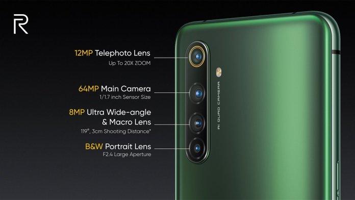 Realme x50 pro cameras