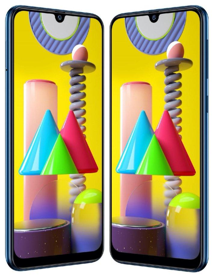 Samsung Galaxy M31 press renders