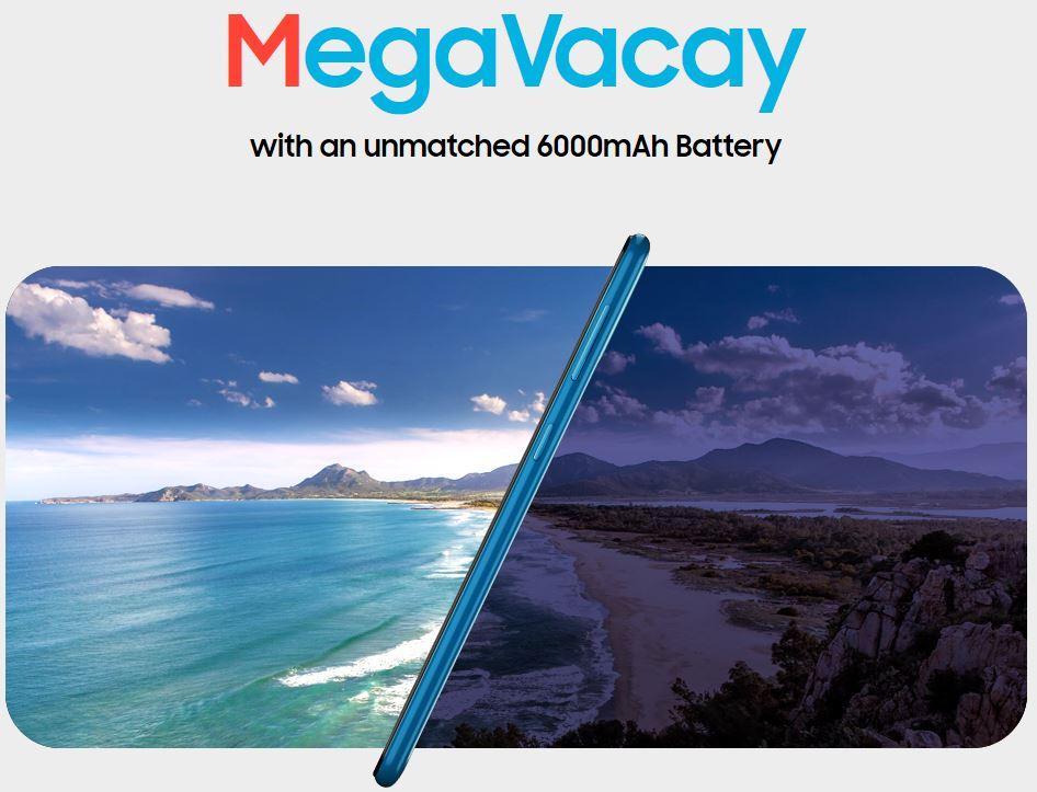 Samsung Galaxy M31 specs battery