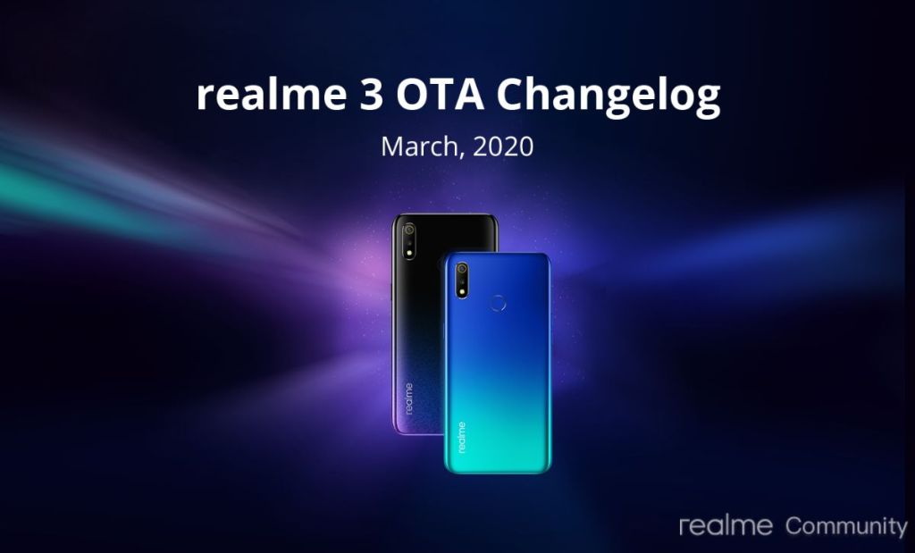 March Update For Realme 3i And Realme 3 Rolls Out