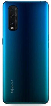 Oppo Find X2 Blue back