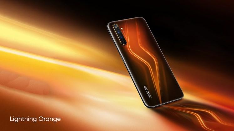 Realme 6 Pro Lightning Orange
