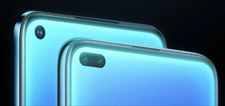 Realme 6 Punch Hole selfie camera