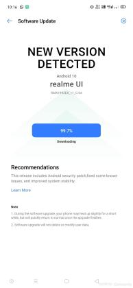 Realme X2 update March