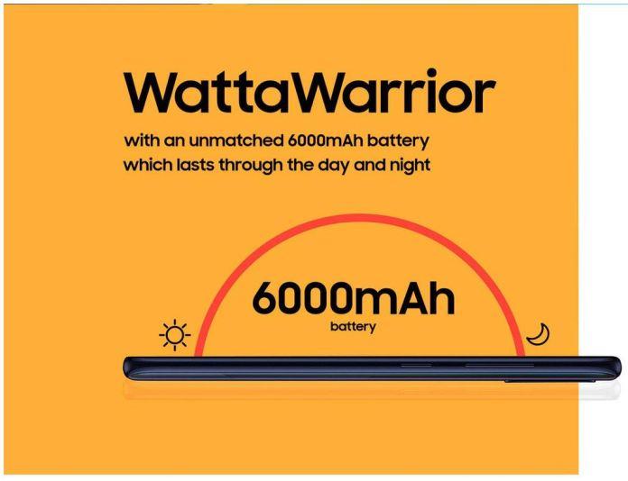 Samsung Galaxy M21 specs battery
