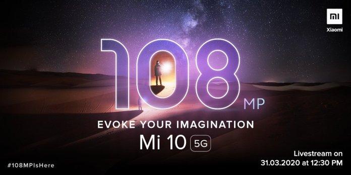Xiaomi Mi 10 India Launch Date